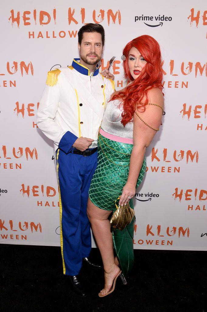 """<p>You're sure to make a regal entrance if you dress up as Prince Eric and his aquatic lover Ariel from <em>The Little Mermaid</em>. </p><p><a class=""""link rapid-noclick-resp"""" href=""""https://www.amazon.com/Forum-Novelties-78158-Prince-Charming/dp/B071P8KJ9Z?tag=syn-yahoo-20&ascsubtag=%5Bartid%7C10070.g.1923%5Bsrc%7Cyahoo-us"""" rel=""""nofollow noopener"""" target=""""_blank"""" data-ylk=""""slk:SHOP WHITE JACKET"""">SHOP WHITE JACKET</a></p><p><a class=""""link rapid-noclick-resp"""" href=""""https://www.amazon.com/IFLOVE-Halloween-Costume-Cosplay-Mermaid/dp/B01LY5K7HE?tag=syn-yahoo-20&ascsubtag=%5Bartid%7C10070.g.1923%5Bsrc%7Cyahoo-us"""" rel=""""nofollow noopener"""" target=""""_blank"""" data-ylk=""""slk:SHOP GREEN SKIRT"""">SHOP GREEN SKIRT</a></p>"""