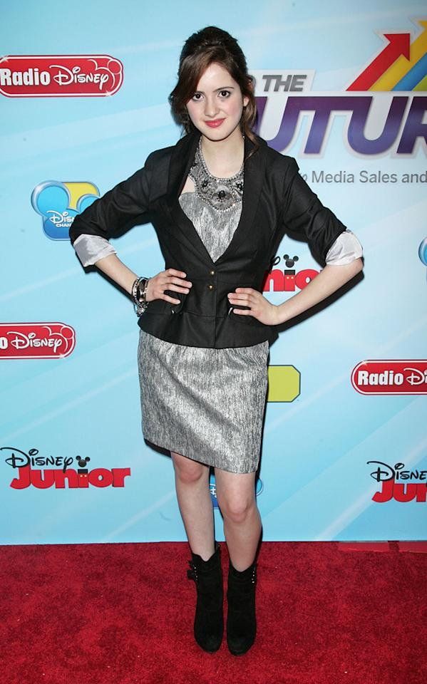 Laura Marano attends the 2012-13 Disney Channel Worldwide Kids Upfront at the Hard  Rock Cafe - Times Square on March 13, 2012 in New York City.