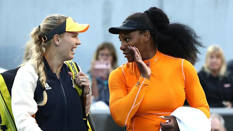 Serena and Wozniacki close in on Auckland glory as WTA BFFs chase title