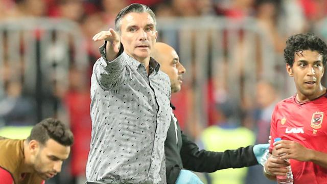 The Frenchman lasted just five months into his job and the axe comes barely 24 hours after Al Ahly were tossed out of the Arab Club Championship