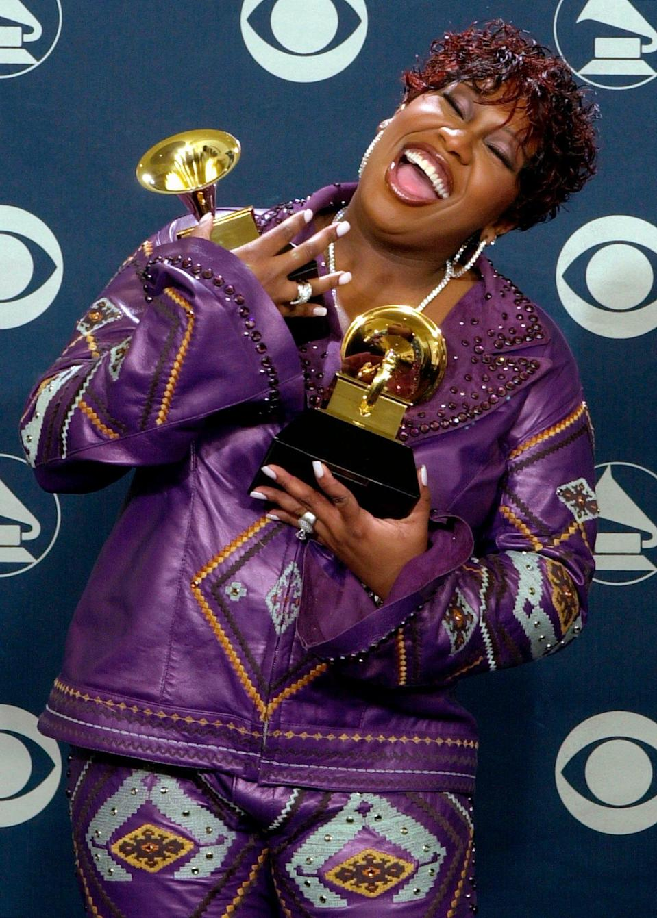 Missy Elliott took home her first solo Grammy for
