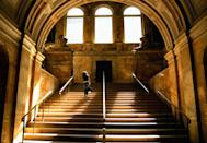"""<p> <a href=""""http://www.bpl.org"""" rel=""""nofollow noopener"""" target=""""_blank"""" data-ylk=""""slk:The Boston Public Library"""" class=""""link rapid-noclick-resp"""">The Boston Public Library</a> is the second largest in the country, at 930,000-square-feet and holding 21 million items — but that's only part of why it's so spectacular. The older side of the building, which opened in 1895, features murals by John Singer Sargent, and a courtyard based on the 16th-century Palazzo della Cancelleria in Rome. </p>"""