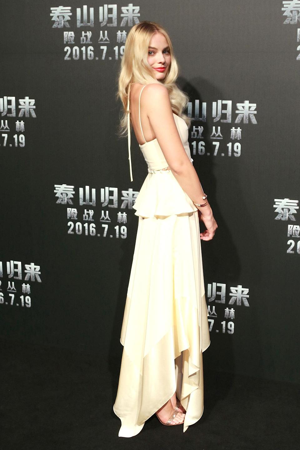 """<h2>In Prabal Gurung</h2> <p>At the<em> Legend of Tarzan</em> premiere in Beijing, 2016</p> <h4>Getty Images</h4> <p> <strong>Related Articles</strong> <ul> <li><a rel=""""nofollow noopener"""" href=""""http://thezoereport.com/fashion/style-tips/box-of-style-ways-to-wear-cape-trend/?utm_source=yahoo&utm_medium=syndication"""" target=""""_blank"""" data-ylk=""""slk:The Key Styling Piece Your Wardrobe Needs"""" class=""""link rapid-noclick-resp"""">The Key Styling Piece Your Wardrobe Needs</a></li><li><a rel=""""nofollow noopener"""" href=""""http://thezoereport.com/fashion/shopping/everything-need-let-zoe-giveaway/?utm_source=yahoo&utm_medium=syndication"""" target=""""_blank"""" data-ylk=""""slk:Everything You Need From Our Let It Zoe Giveaway"""" class=""""link rapid-noclick-resp"""">Everything You Need From Our Let It Zoe Giveaway</a></li><li><a rel=""""nofollow noopener"""" href=""""http://thezoereport.com/beauty/celebrity-beauty/josephine-skriver-makeup-tutorial-video-vogue/?utm_source=yahoo&utm_medium=syndication"""" target=""""_blank"""" data-ylk=""""slk:A Victoria's Secret Model Shows Us How To Get Our Lips To Her Level"""" class=""""link rapid-noclick-resp"""">A Victoria's Secret Model Shows Us How To Get Our Lips To Her Level</a></li> </ul> </p>"""