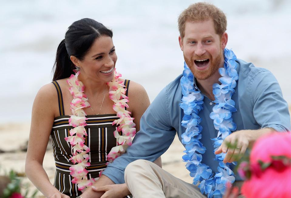 Prince Harry has revealed that he hopes his wife, Meghan Markle, has a baby girl. Photo: Getty Images
