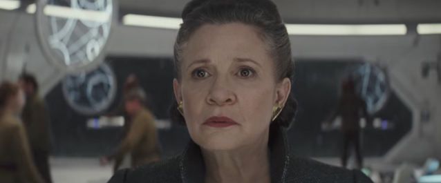 Will Leia suffer the same fate as Han Solo? (Credit: Lucasfilm)