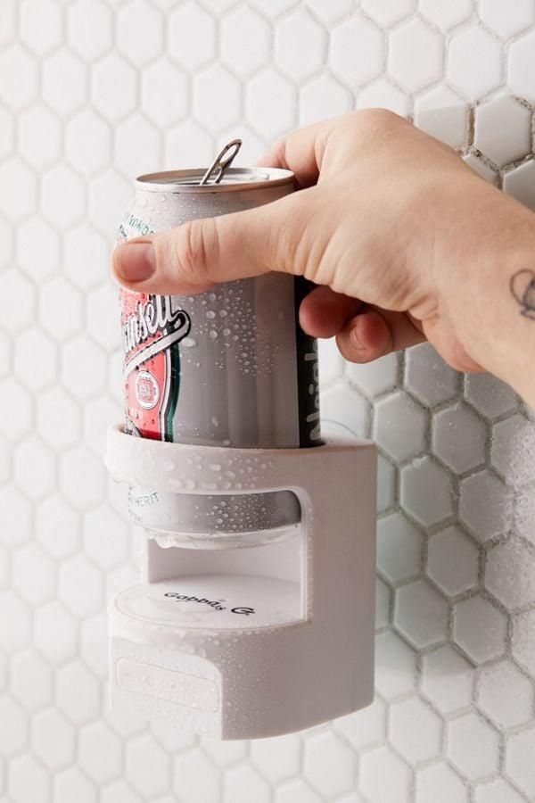 <p>Bring a brew in the shower and listen to your favorite songs all at once with this <span>Shower Beer Holder Bluetooth Speaker</span> ($30).</p>