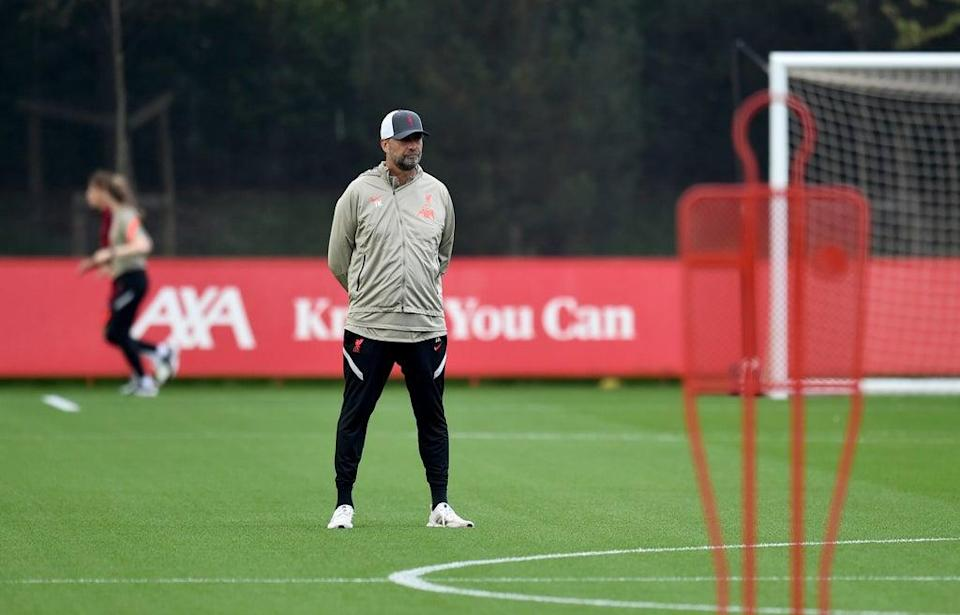 Jurgen Klopp is unhappy he will not have use of his Brazilian players against Leeds  (Liverpool FC via Getty Images)
