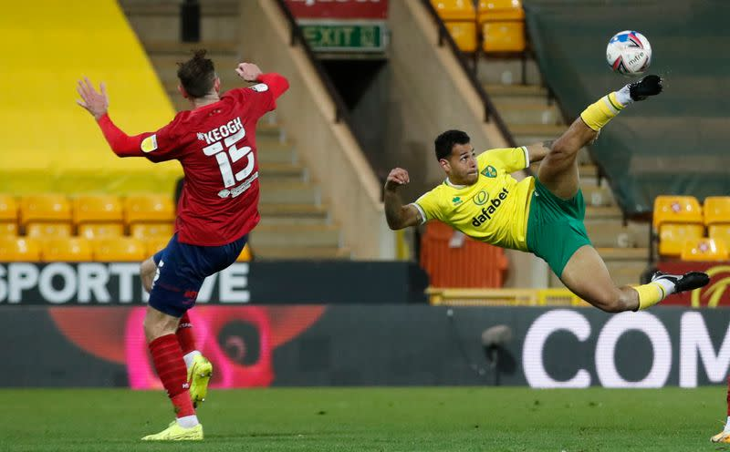Championship - Norwich City v Huddersfield Town