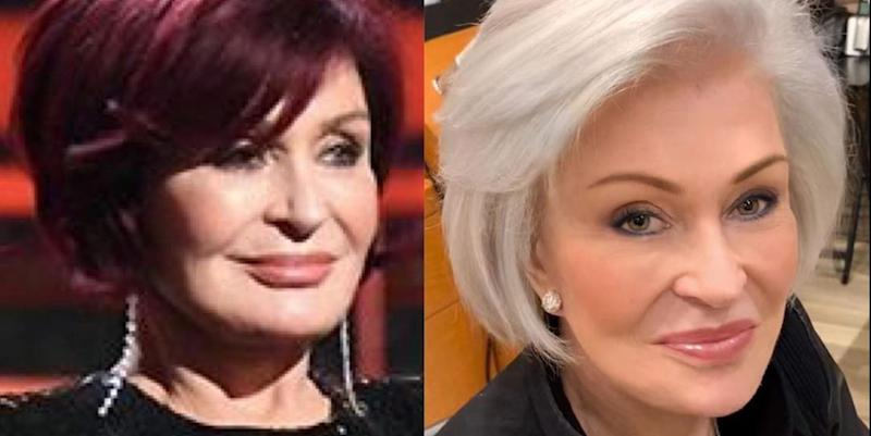 Sharon Osbourne has dyed her hair platinum blonde - 21-Feb