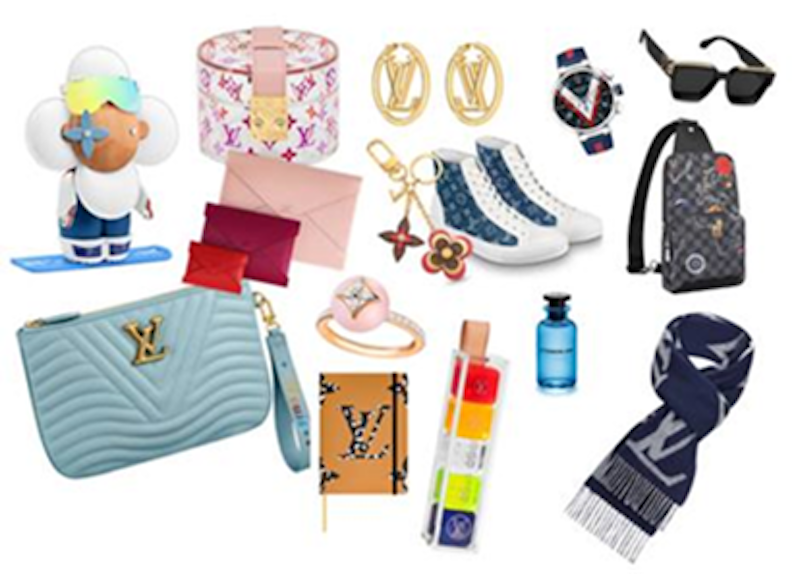 Check out Louis Vuitton's e-commerce portal for a bit of early Christmas shopping.