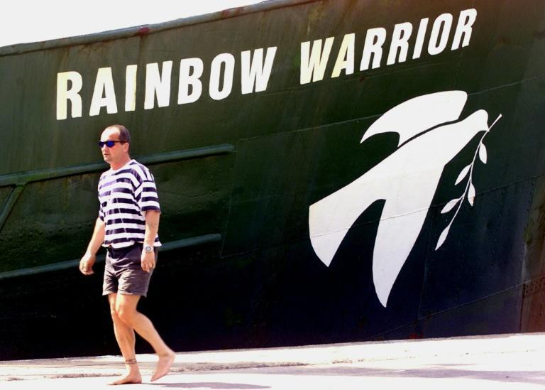 The first 'Rainbow Warrior' was bombed by the French secret service, but the group has continue to use the name (AFP/PORNCHAI KITTIWONGSAKUL)