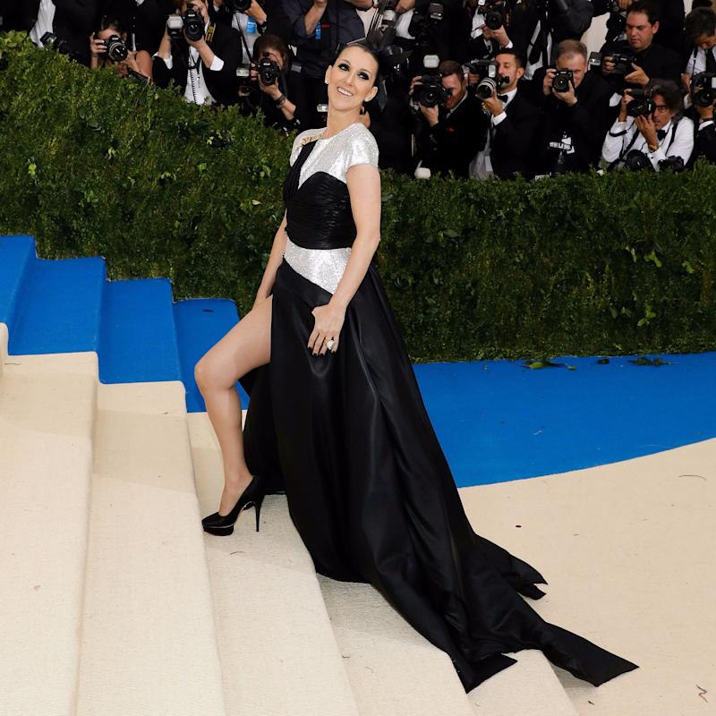 Celine Dion Had Entirely Too Much Fun at Her First Met Gala