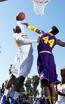Shabazz Muhammad played in the Elite 24 game featuring the top high school players