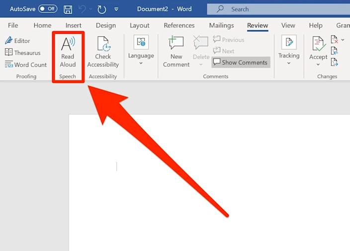 "Microsoft Word has a ""Read Aloud"" function built in."