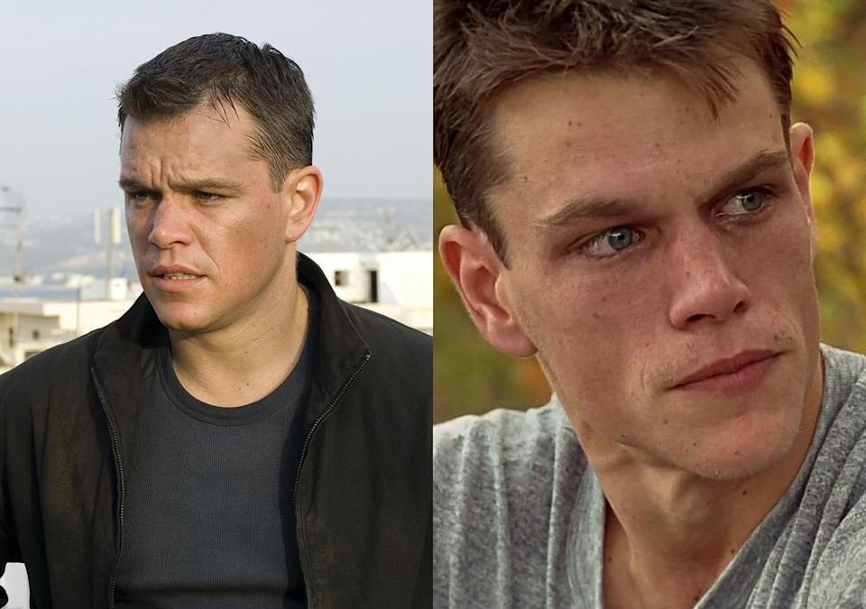 <p>Damon was only required to look like a gaunt heroin addict for two days of shooting on Ed Zwick's Gulf War drama, but he took no short cuts. He shed 50 lbs through running and a strict diet, but had to go on medication afterwards to repair damage to his adrenal gland.</p>
