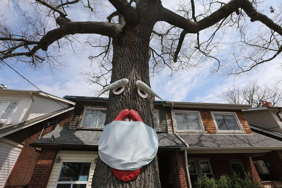 "<p>Halloween may still be a few months away, but this family in Toronto brought our their Halloween decorations a little early to show support for frontline workers during the COVID-19 pandemic. </p><p>__________________________________________________________</p><p>Want to make your holidays shine? You're in luck! <a href=""https://subscribe.hearstmags.com/subscribe/womansday/253396?source=wdy_edit_article"" rel=""nofollow noopener"" target=""_blank"" data-ylk=""slk:Subscribe to Woman's Day"" class=""link rapid-noclick-resp"">Subscribe to Woman's Day</a> today and get <strong>73% off your first 12 issues</strong>. And while you're at it, <a href=""https://subscribe.hearstmags.com/circulation/shared/email/newsletters/signup/wdy-su01.html"" rel=""nofollow noopener"" target=""_blank"" data-ylk=""slk:sign up for our FREE newsletter"" class=""link rapid-noclick-resp"">sign up for our FREE newsletter</a> for even more of the Woman's Day content you want.</p>"