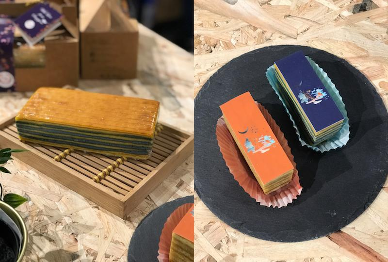 Cakes on display. Photos: Design Orchard pop-up