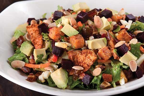 California Pizza Kitchen Full Moroccan Spiced Chicken Salad