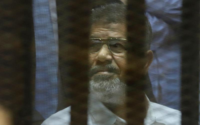 Mr Morsi was overthrown by a military coup in 2013 - AP