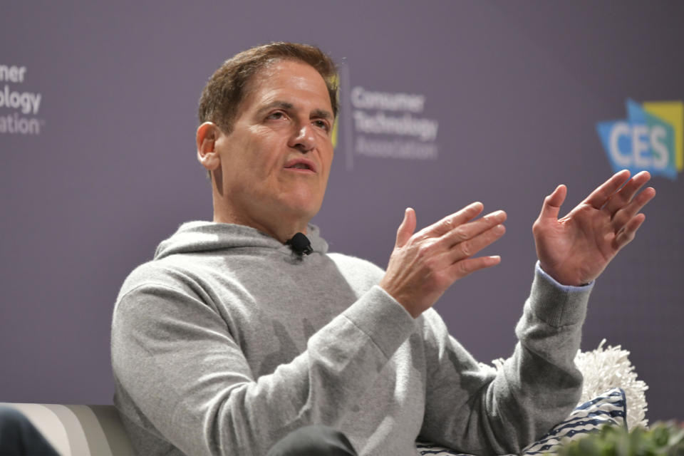 LAS VEGAS, NV - January 8 : Mark Cuban speaking at Headliner Conversation With Mark Cuban at CES 2020 at Aria Resort & Casino in Las Vegas, Nevada on January 8, 2020. Credit: Damairs Carter/MediaPunch /IPX