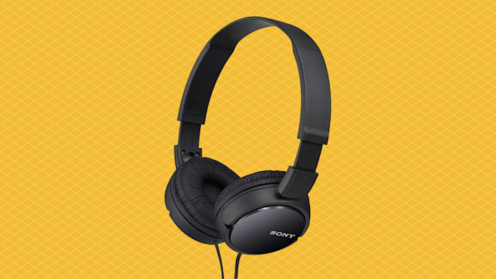 Save half on these Sony MDRZX110/BLK ZX Series Stereo Headphones. (Photo: Amazon)