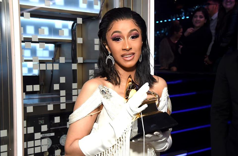 Ariana Grande responds after Cardi B says she's 'sharing this Grammy' with late nominee Mac Miller