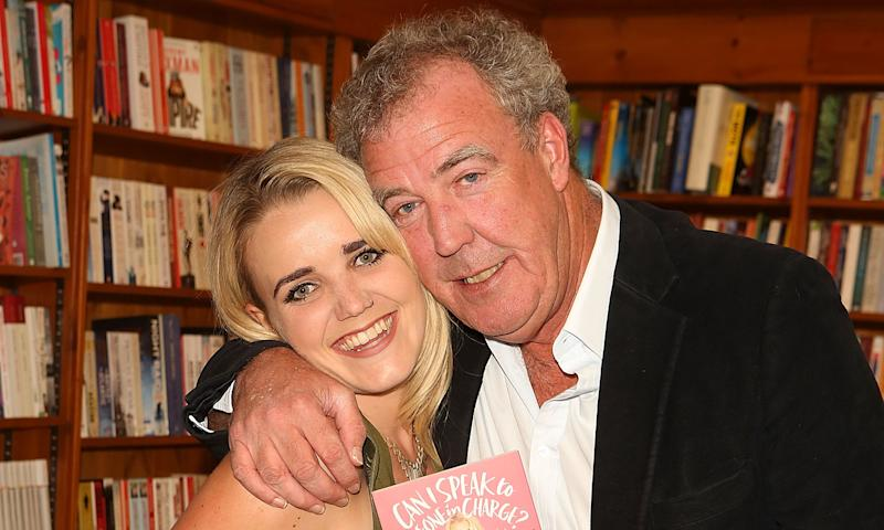 Jeremy Clarkson with eldest daughter Emily. (Photo by David M Benett/Dave Benett/Getty Images for Simon & Schuster UK)
