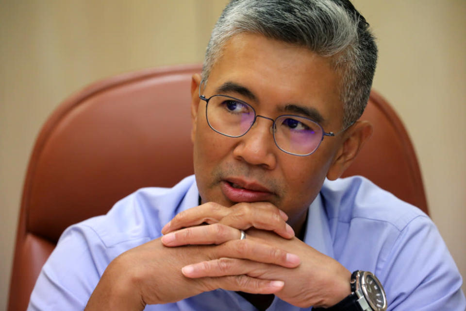 Tengku Zafrul Abdul Aziz will be responsible for monitoring the implementation of strategy and aid. — Reuters pic
