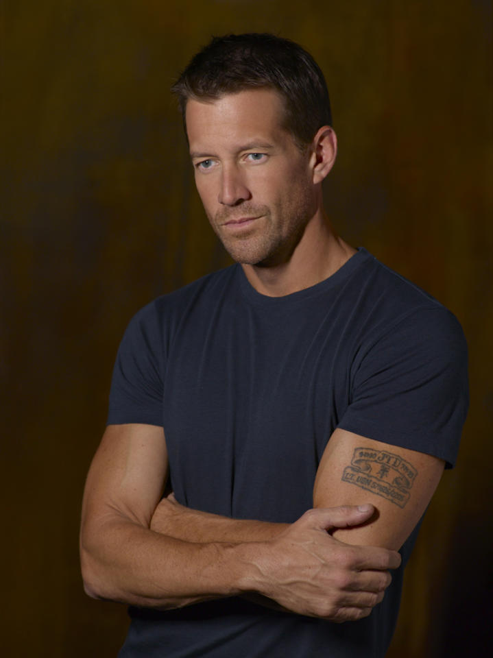 "<p class=""MsoNormal"">James Denton took his ""Desperate Housewives"" character Mike Delfino's recent death in stride -- thankful that his early exit before the show's series finale freed him up to take on other projects such as a guest spot on TV Land's comedy ""Hot in Cleveland."" The 49-year-old actor will appear on the May 16 episode as a truck-driving love interest for Joy (Jane Leeves, who, coincidentally, guest-starred on ""Desperate Housewives"" in 2010). But Denton is in no hurry to sign on to another TV show, since he's already made plans to move to Minnesota with his wife to be closer to her family. ""If I never come back, it's because it's worked so well for the family up there that we decided to stay,"" he told ABC7 News Los Angeles. </p>"