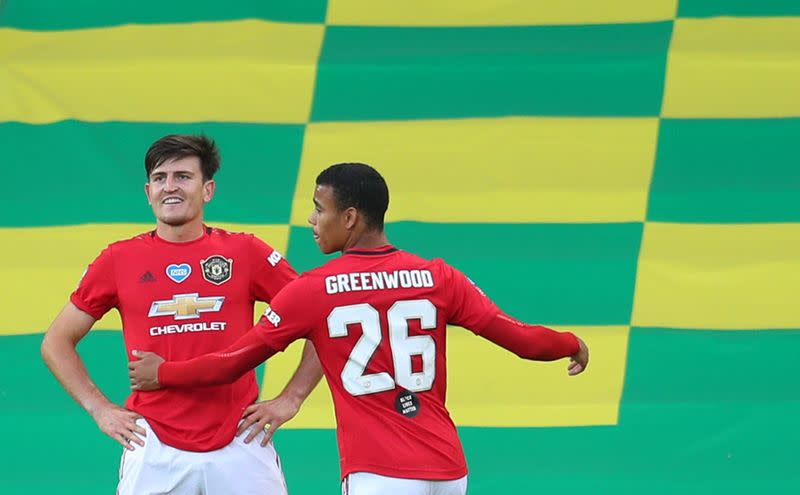 Late extra-time Maguire winner edges United past Norwich