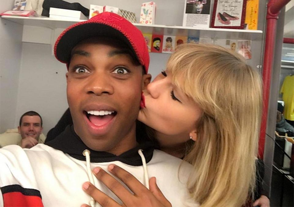 Todrick Hall and Taylor Swift (Photo: People)