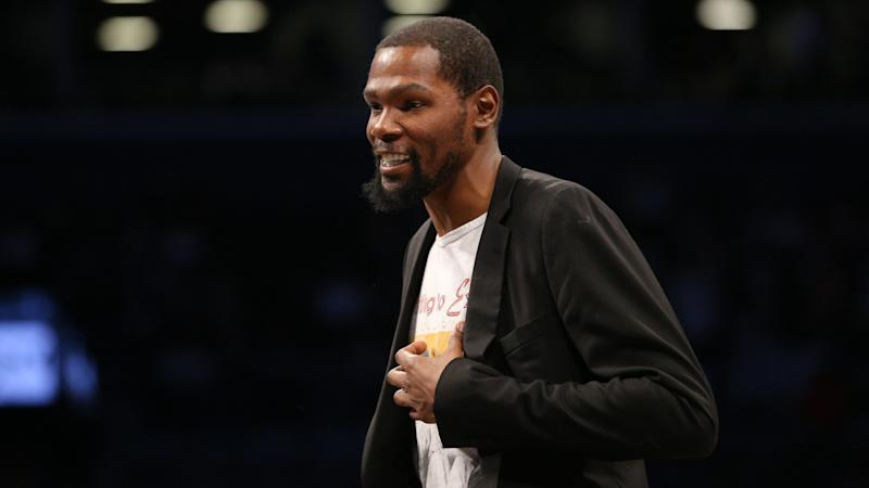 SEE IT: Kevin Durant completes latest youth basketball court in Brooklyn