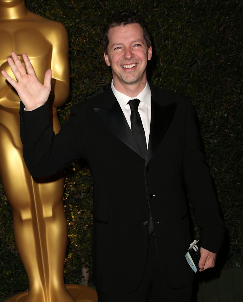 HOLLYWOOD, CA - DECEMBER 01: Actor Sean Hayes attends the Academy Of Motion Picture Arts And Sciences' 4th Annual Governors Awards at Hollywood and Highland on December 1, 2012 in Hollywood, California.  (Photo by Frederick M. Brown/Getty Images)