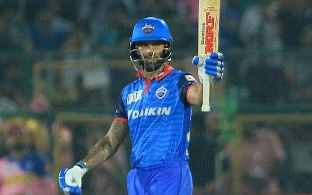 Shikhar Dhawan scored his maiden IPL century and helped DC beat CSK by five wickets to go top of the IPL 2020 table