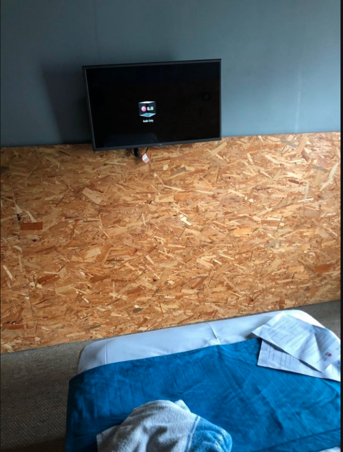 Bed inside The Urban Newton