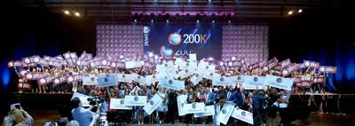Le-Vel 200K Promoters and Millionaire Award Recipients