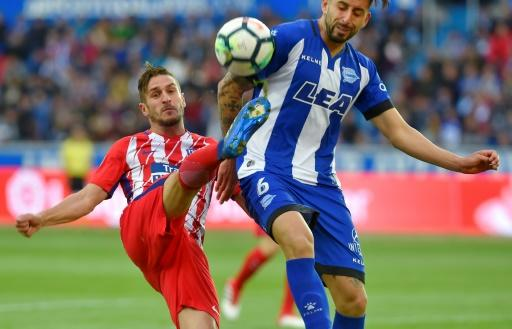 Atletico Madrid battled to a hardfought at Alaves to strengthen their hold on second place in La Liga