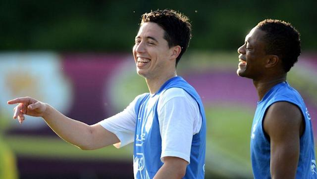<p>Samir Nasri has pretended to be a footballer for far too long.</p> <br><p>Aware from her male football alter ego, Samira Nasri is actually a women's tennis player who has struggled for consistency on the WTA Tour. Too much time has been spent on dying hair and not enough on the practice court.</p> <br><p>Samira has changed the country she represents seventeen times in her tennis career, constantly chasing more funding to support her extravagant hair styling.</p>