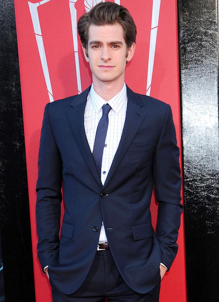 """Andrew Garfield (""""The Amazing Spiderman"""") turns 29 on August 20."""