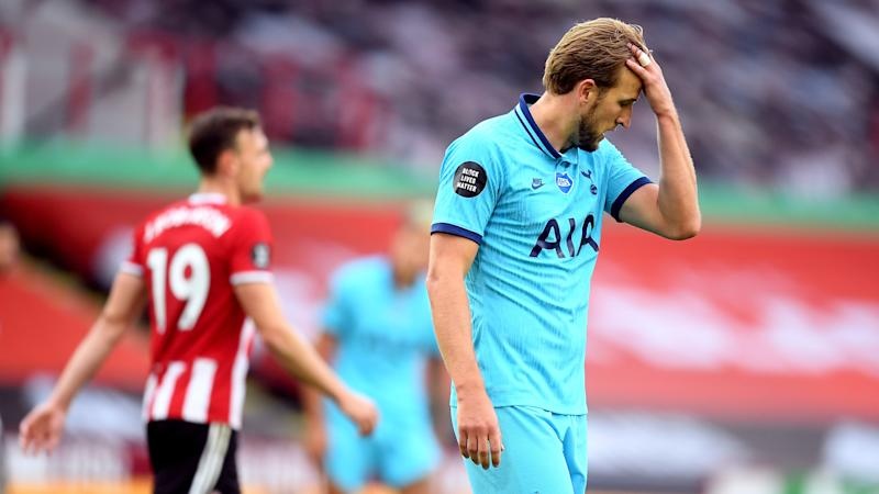 Blades cut Tottenham's Champions League charge to tatters as VAR denies Spurs