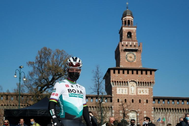 Slovakia's Peter Sagan finished fourth for the fifth time in the one-day classic Milan-San Remo.