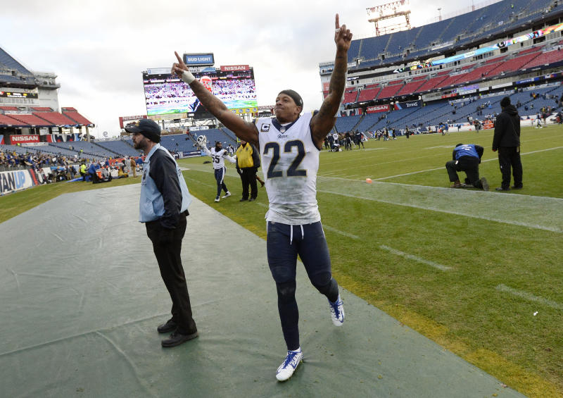 Los Angeles Rams cornerback Trumaine Johnson can finally become an unrestricted free agent. (AP)