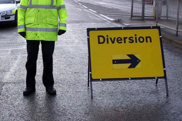 Drivers forced to drive 47 miles in Britain's longest road diversion