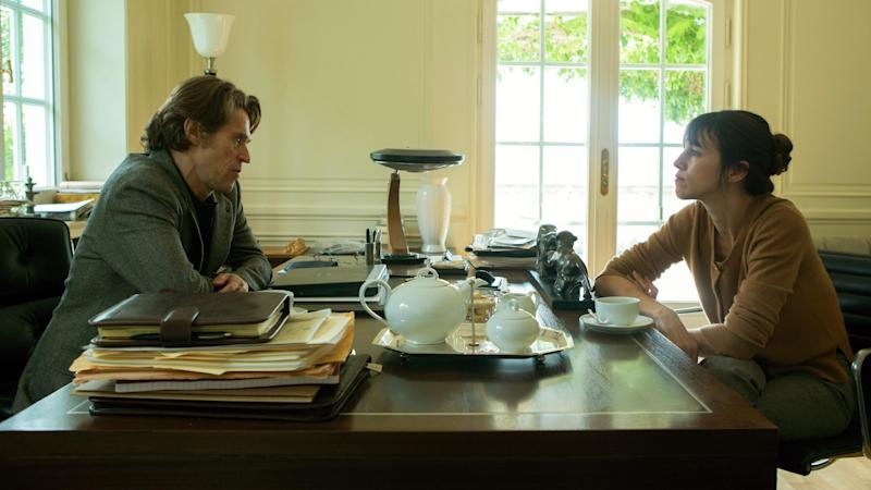 """This image released by Magnolia Pictures shows Willem Dafoe, left, and Charlotte Gainsbourg in a scene from """"Nymphomaniac."""" (AP Photo/Magnolia Pictures, Christian Geisnaes)"""