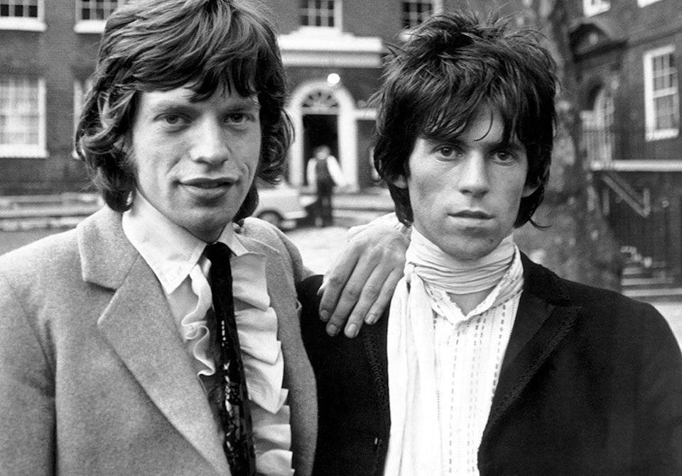 "<p>Rolling Stones bandmates Keith Richards and Mick Jagger started their musical journey together after sparking a conversation about the blues at a train station in England. The two bonded over a mutual love for Muddy Waters, Chuck Berry, Little Richard, Howlin' Wolf and Bo Diddley<span class=""redactor-invisible-space"">. </span></p>"