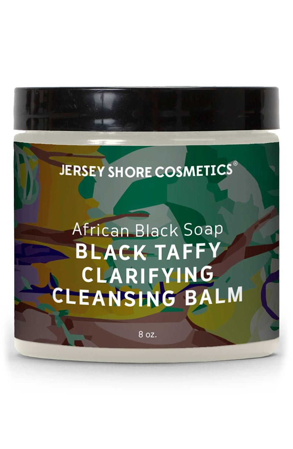 <p><span>Bephies Beauty Supply Jersey Shore Cosmetics African Black Soap Black Taffy Clarifying Cleansing Balm</span> ($27, originally $45)</p>