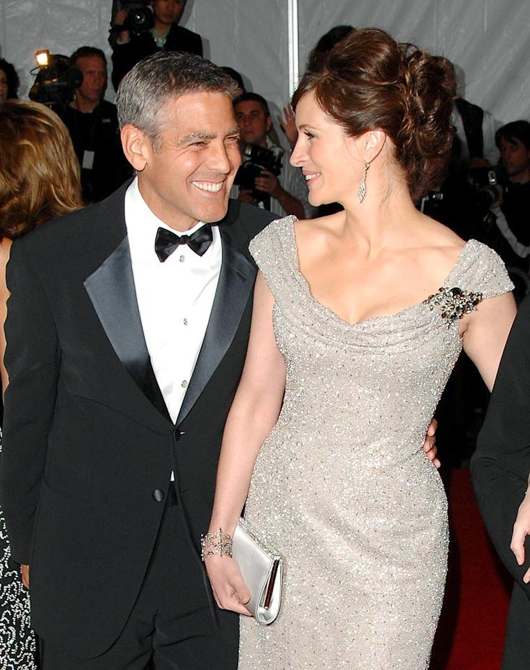 "If George Clooney weren't in love with bachelordom and Julia Roberts weren't married, perhaps these besties would be more than just friends. Ron Asadorian/<a href=""http://www.splashnewsonline.com"" target=""new"">Splash News</a> - May 5, 2008"