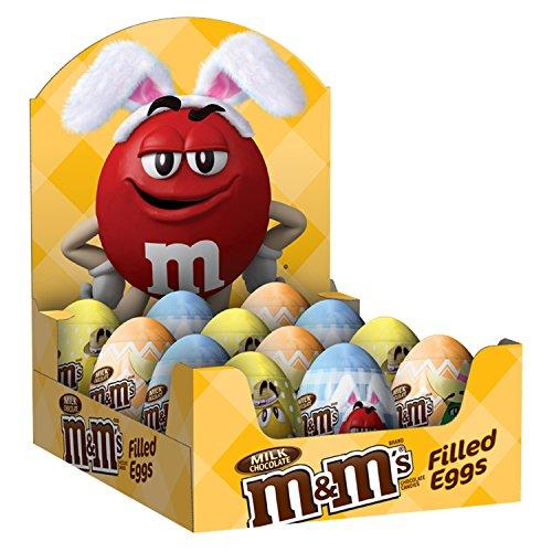 """<p><strong>M&M'S</strong></p><p>amazon.com</p><p><strong>$12.17</strong></p><p><a href=""""https://www.amazon.com/dp/B016F29QWE?tag=syn-yahoo-20&ascsubtag=%5Bartid%7C10070.g.2201%5Bsrc%7Cyahoo-us"""" target=""""_blank"""">Shop Now</a></p><p>M&M's are delicious any time of year, but these little pastel eggs filled with them are sure to be a massive hit this Easter.</p>"""