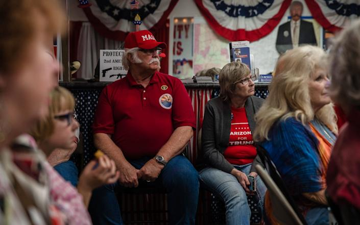 Trump supporters in Arizona are beginning to fear the worst - GETTY IMAGES