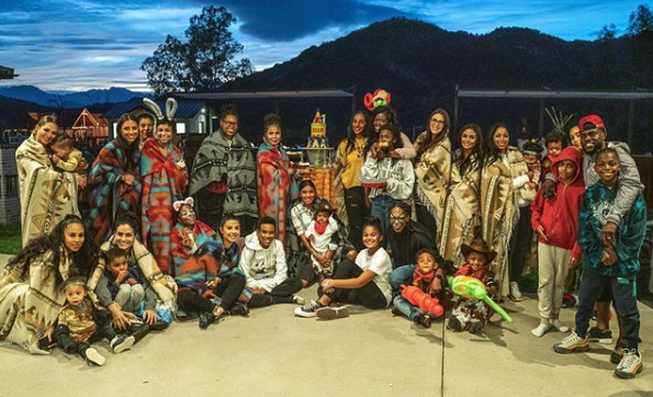Eniko and Kevin Hart threw a cowboys and Indians-themed birthday party for their son. (Photo: Eniko Hart via Instagram)
